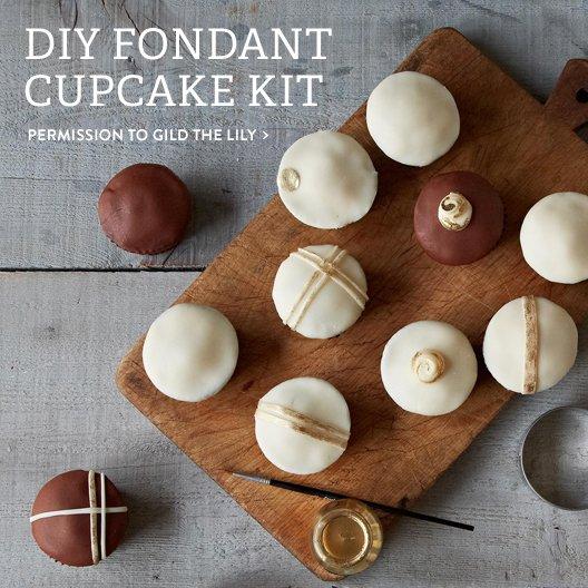 DIY Fondant Cupcake Kit
