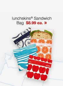 lunchskins Sandwich Bag $8.99 ea. »