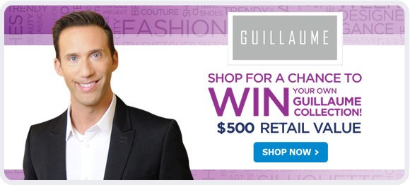 Shop for a chance to win your own Guillaume Collection - Shop Now!