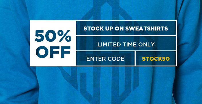 Stock up on Sweatshirts