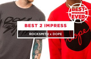 Click to buy RockSmith and Dope.