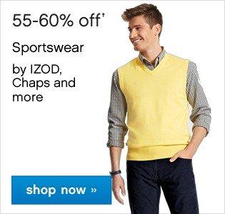 55-60% off Mens Sportswear. Shop now.