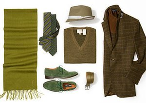 Fall Tones: Greens