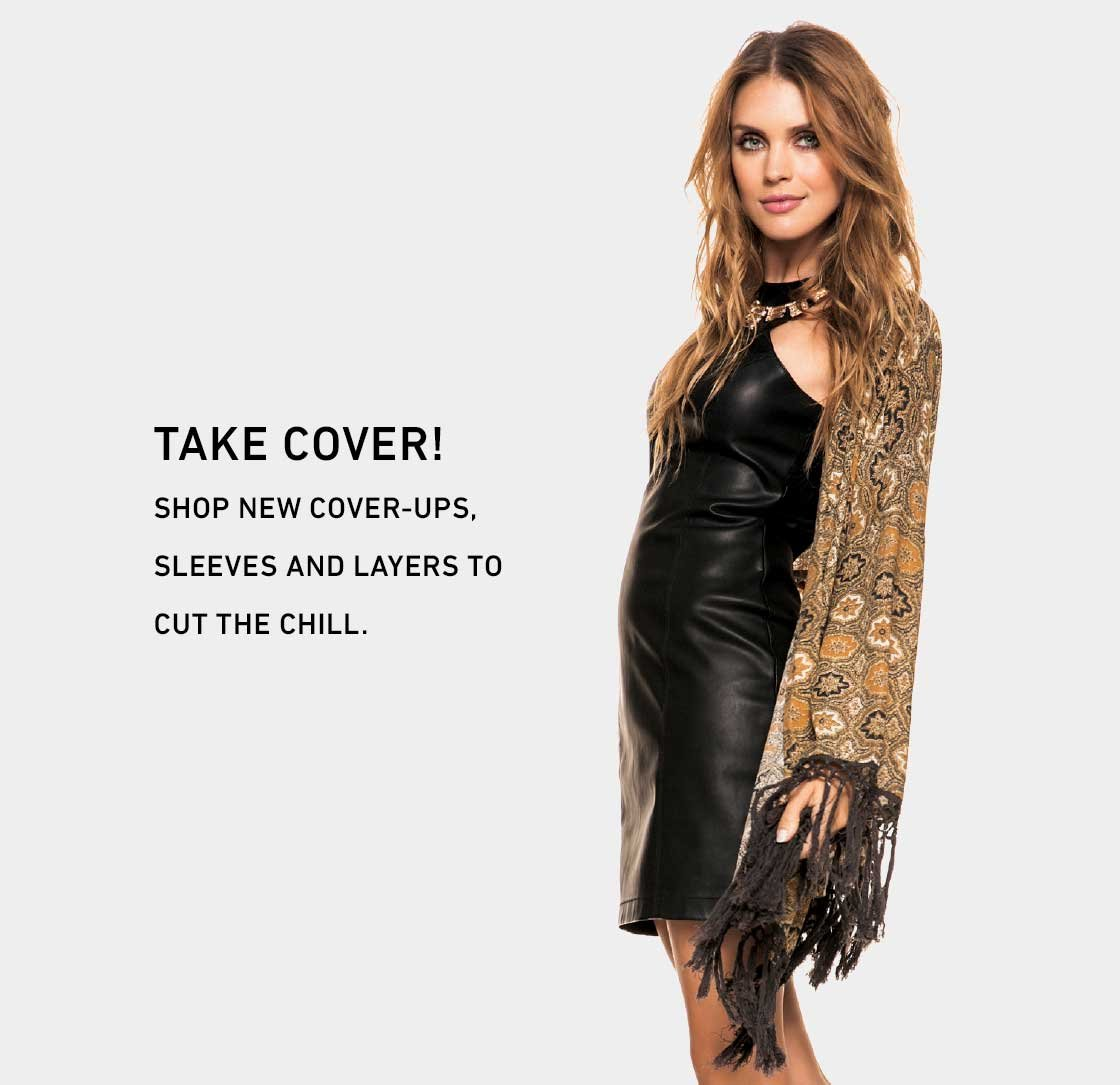 Take Cover! Shop New Cover Ups and Tops
