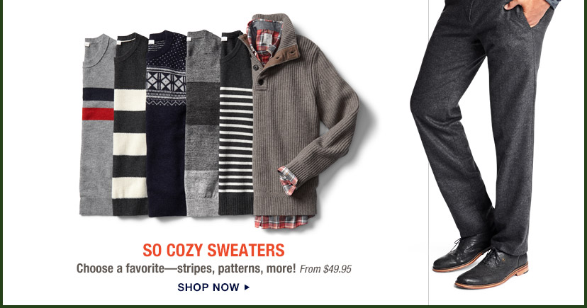 SO COZY SWEATERS | SHOP NOW