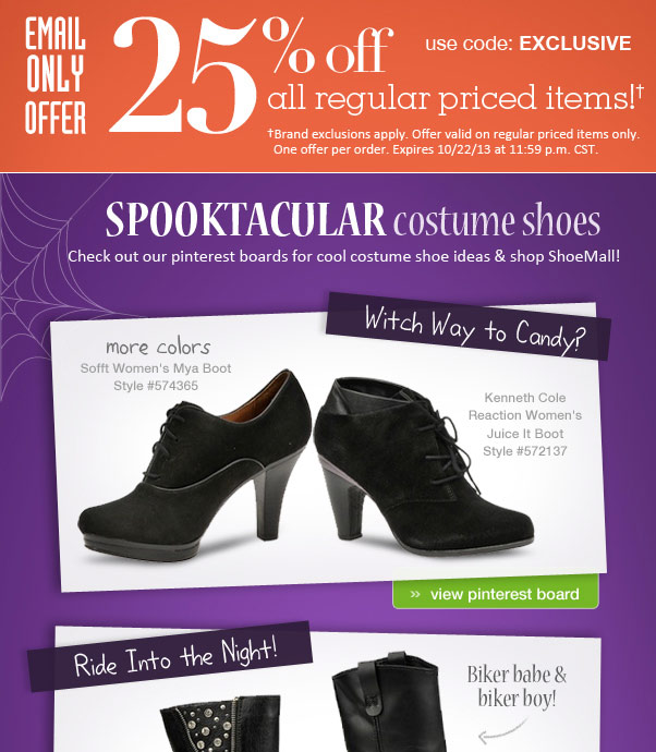 Spooktacular Costume Shoes!