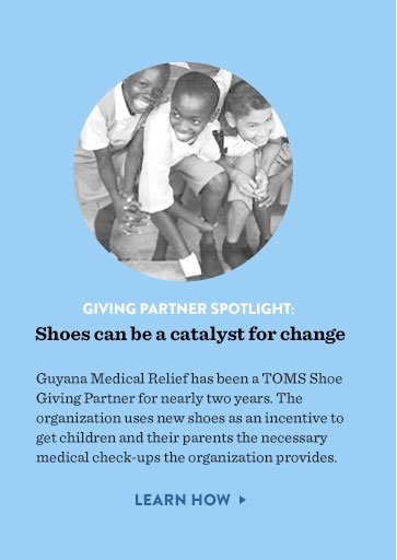 Giving Partner spotlight: shoes can be a catalyst for change - learn how