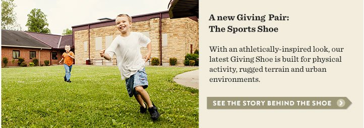 A new Giving Pair - the Sports Shoe