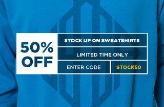 Stock up on Sweatshirts