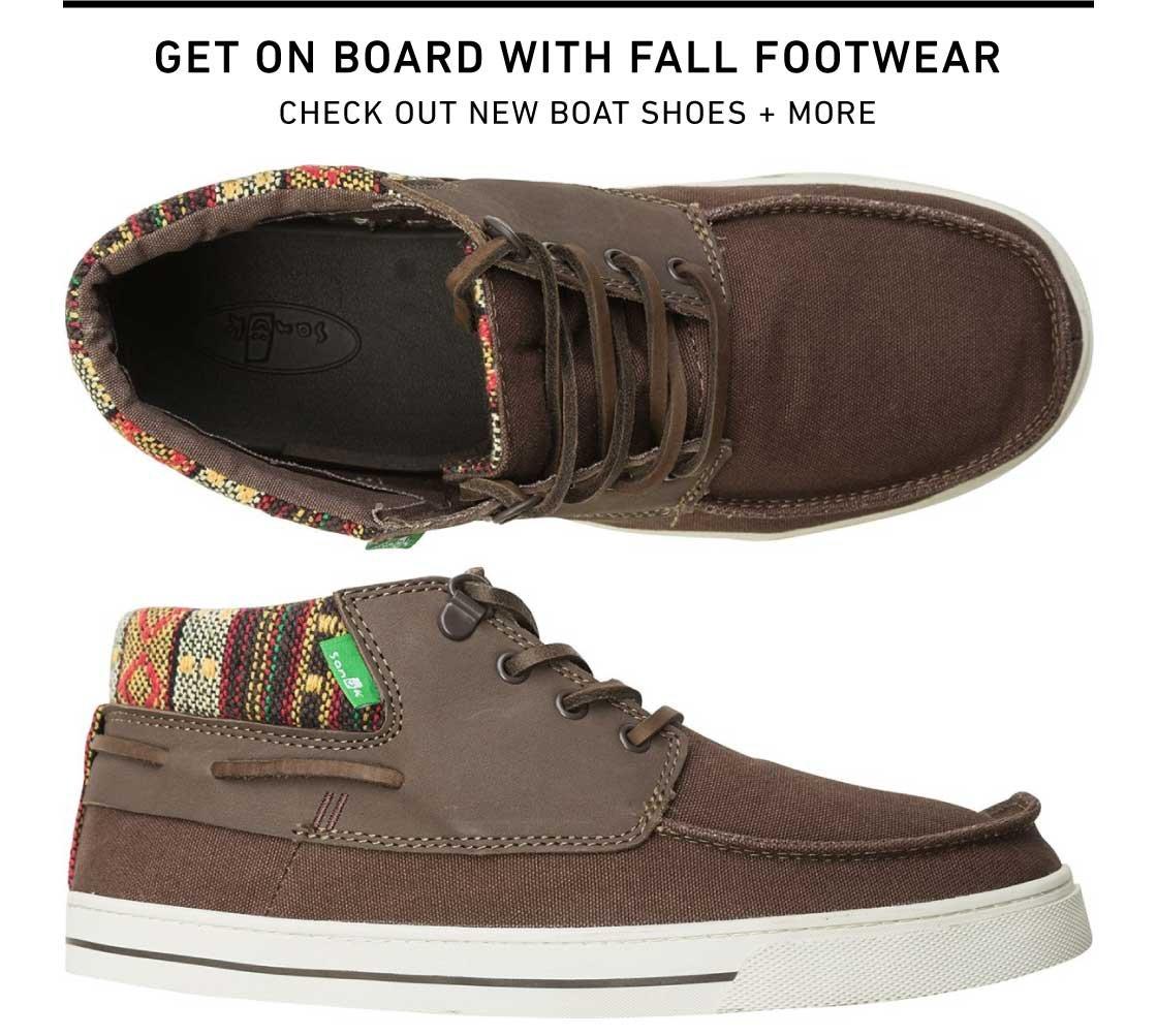 New Fall Footwear
