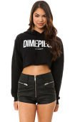 The Dimepiece Cropped Hoody