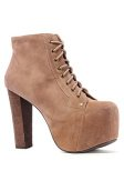 The Lita Shoe in Taupe