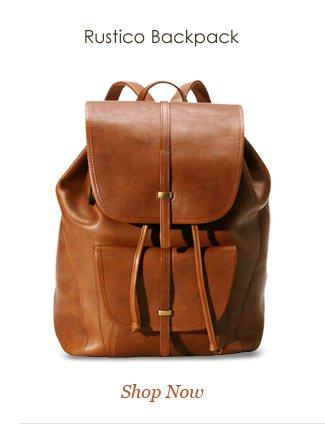 Shop Rustico Backpack