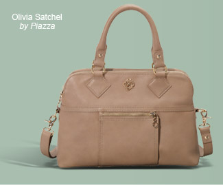 Olivia Satchel by Piazza. Get it Now.