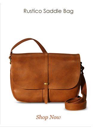 Shop Rustico Saddle Bag