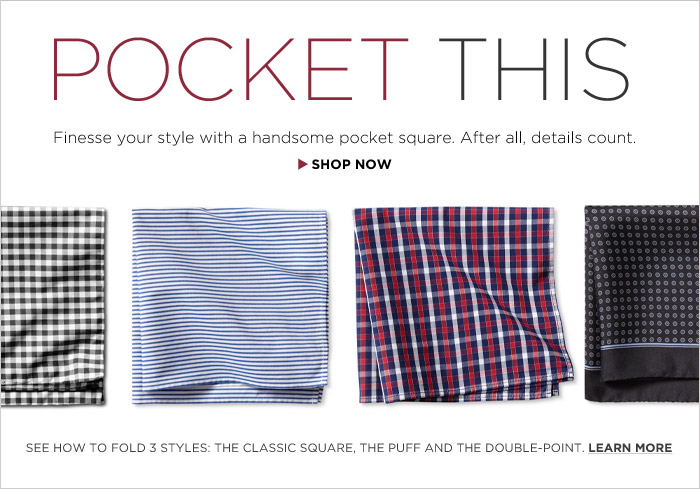 POCKET THIS | SHOP NOW