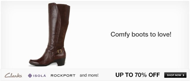 Comfy boots to love!