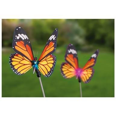 2 CastleCreek™ Butterfly Solar Lights
