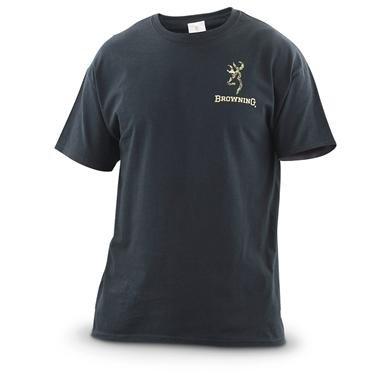 Browning® Camo Buckmark T-shirt
