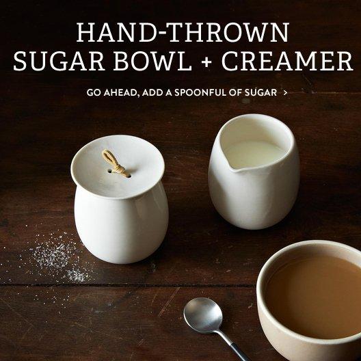 Sugar Bowl + Creamer