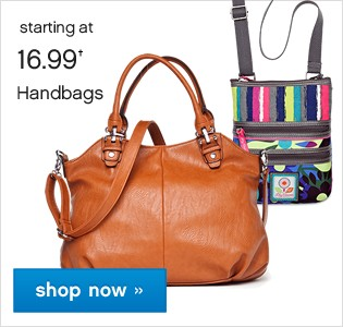 Handbags and Minibags starting at 16.99. Shop now.