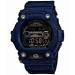 Casio GR7900NV-2 Men's G-Shock Solar Navy Military Blue Bezel Digital Dive Watch