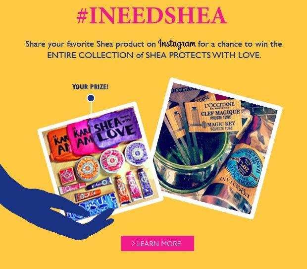 I need shea contest