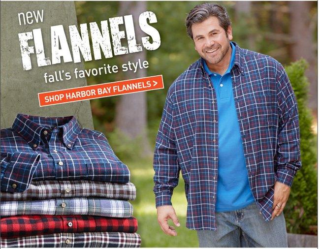 Shop All Harbor Bay Flannels