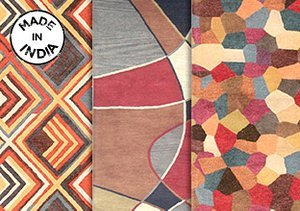 Made in India: One of a Kind Rugs
