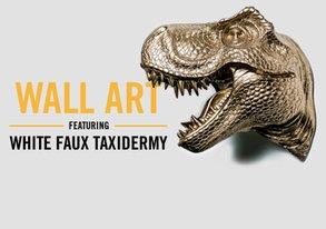 Shop Wall Art ft. Faux Taxidermy