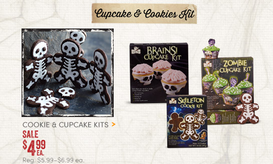 Cupcake & Cookie Kits - Sale $4.99ea