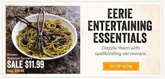 Eerie Entertaining Essentials