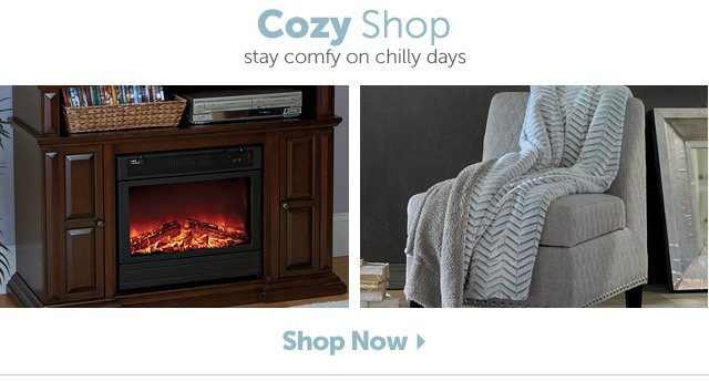 Cozy Shop stay comfy on chilly days
