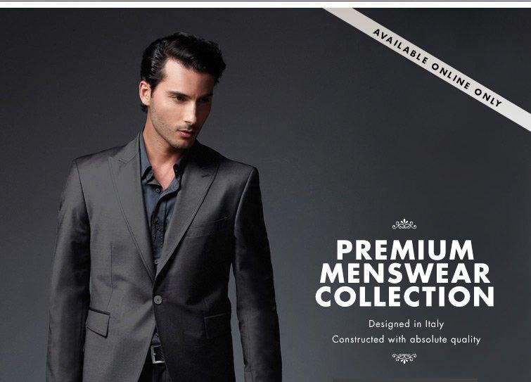 Shop Premium Menswear Collection