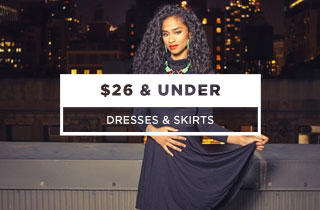 Dresses & Skirts $26 & Under