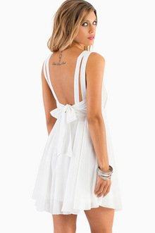 SWEET VICKY BOW DRESS 39