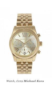 Watch, £229 - Michael Kors
