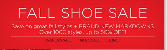 Fall Shoe Sale continues! Find new markdowns and save up to 40% on a great selection of styles from UGG® Australia, including the Pink Ribbon Bailey Button! Plus, save on over 1000+ style from ECCO, Raffini, ABEO and more! Find the best selection online and in stores at The Walking Company.