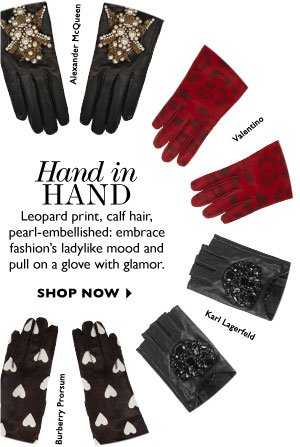 HAND IN HAND. SHOP NOW