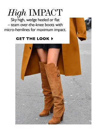 HIGH IMPACT.GET THE LOOK