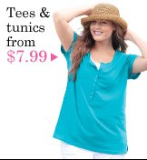 tees and tunics