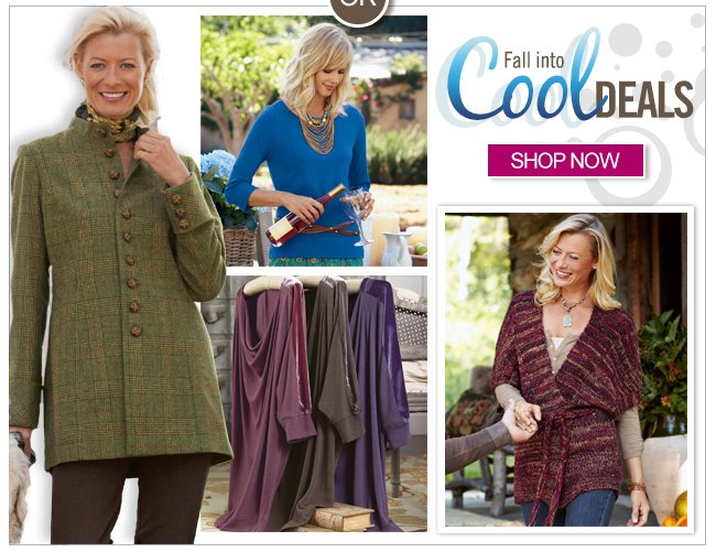 Fall into cool deals. Shop now.