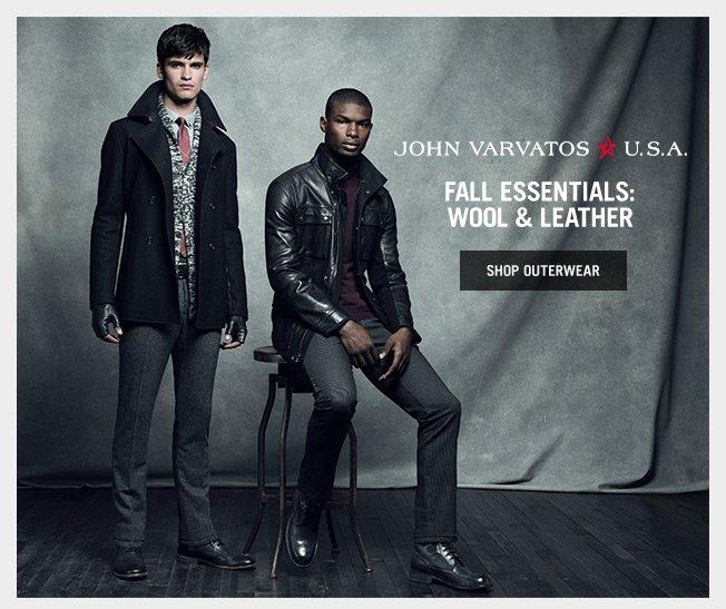 Fall Essentials: John Varvatos U.S.A. Outerwear & Boots