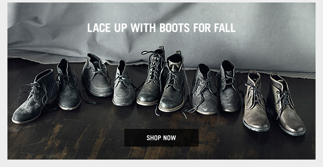 Lace Up With Boots For Fall