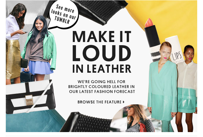 MAKE IT LOUD IN LEATHER - BROWSE THE FEATURE