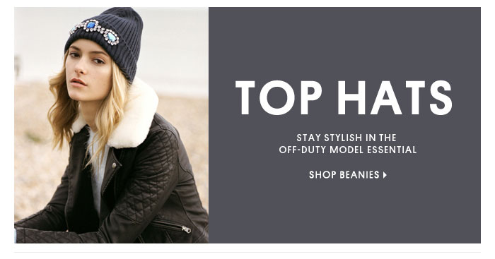 TOP HATS - SHOP BEANIES