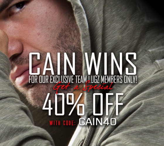 Cain Wins - Get 40% off!