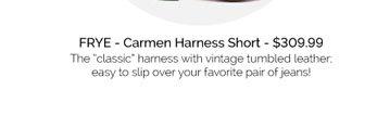 Carmen Harness - $309.99