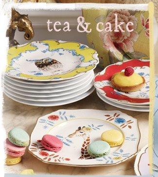 Tea & cake.