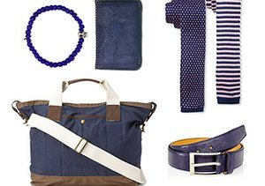The New Neutral: Navy Accessories